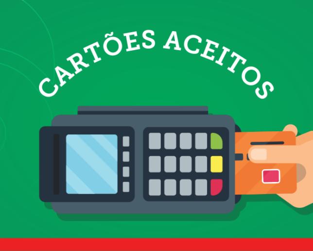 Conheça os cartões de débito, crédito, vale-alimentação e vale-refeição aceitos no Rancho