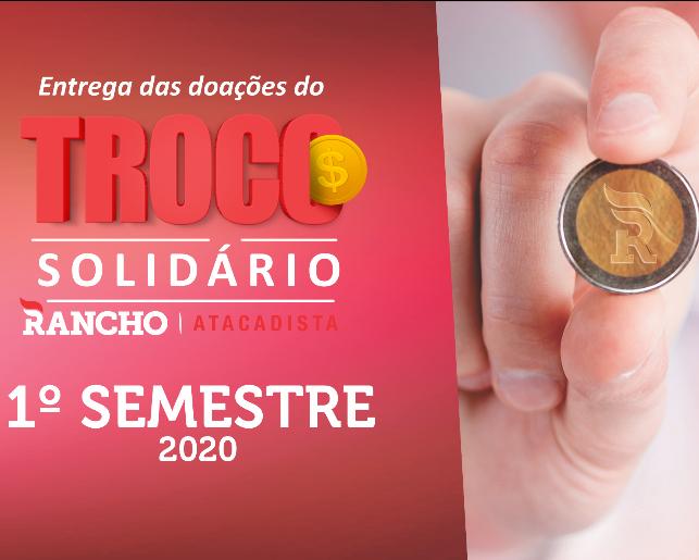 Confira as doações do Troco Solidário no 1º semestre de 2020