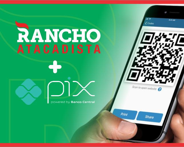 Rancho agora aceita pagamento via Pix